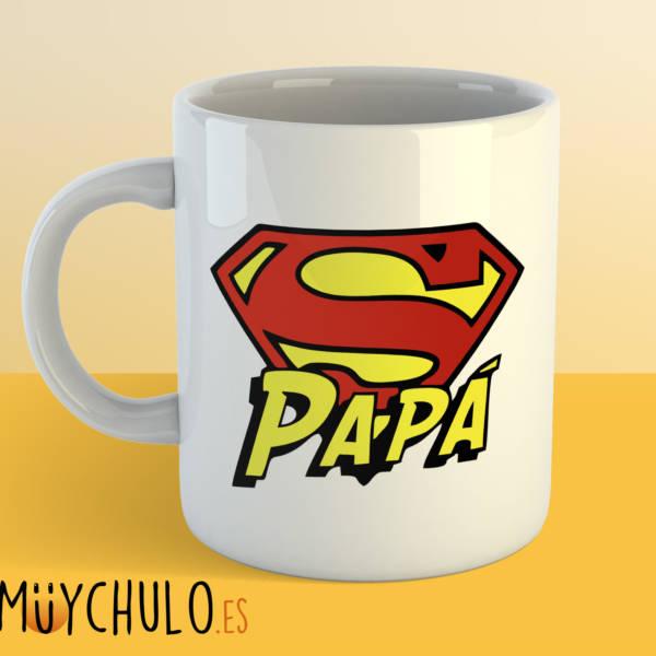 Taza Logo Superpapá