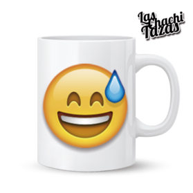 Emoji Taza Avergonzado/a