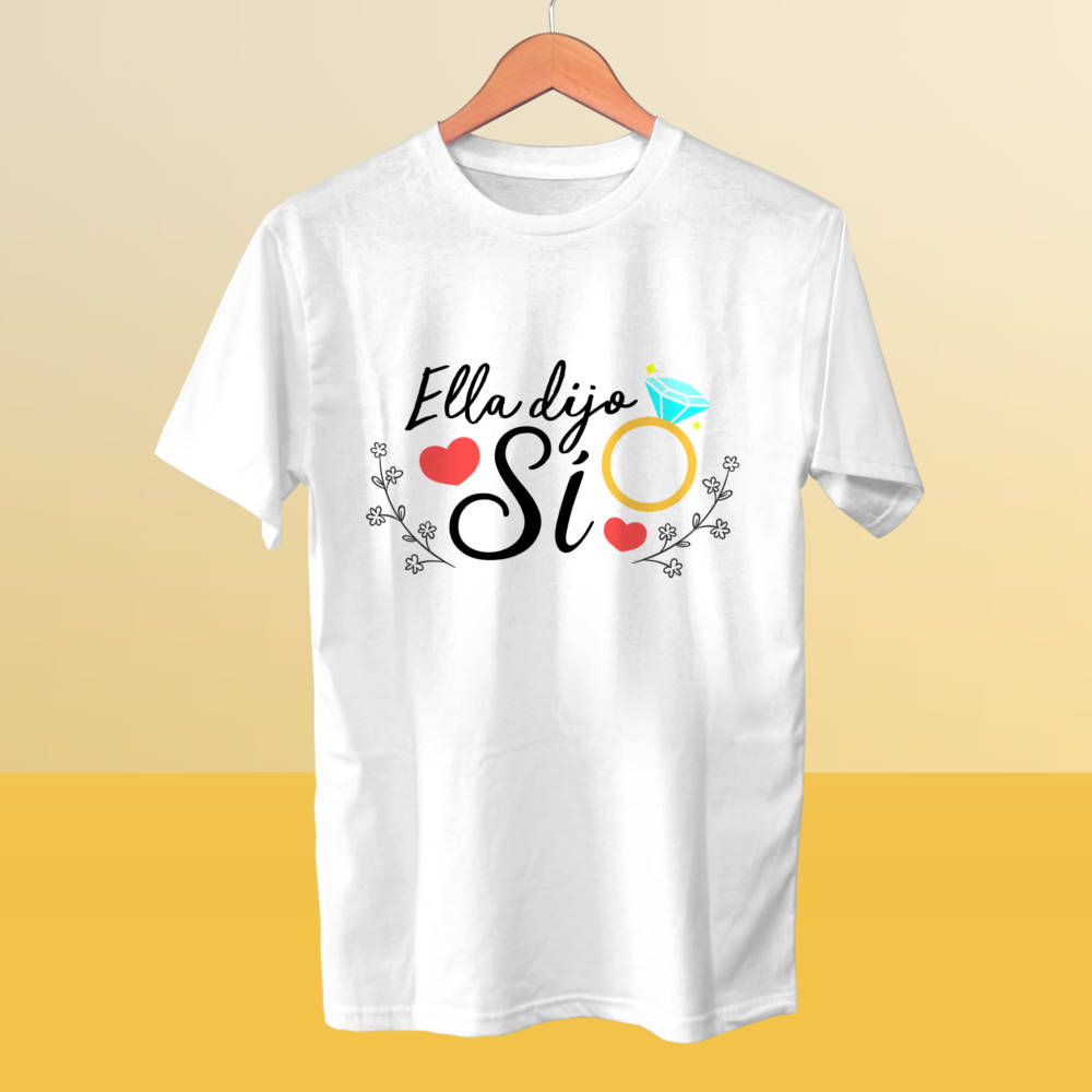 Camiseta Ella Dijo Sí