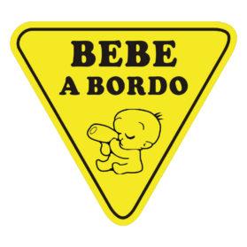 Pegatina Bebé a Bordo señal