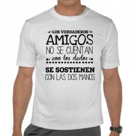 Camiseta Los amigos de verdad