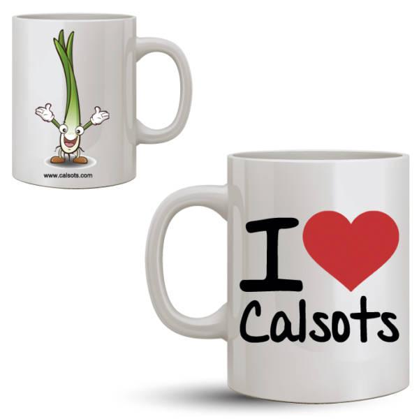Taza Calsots I love calsots