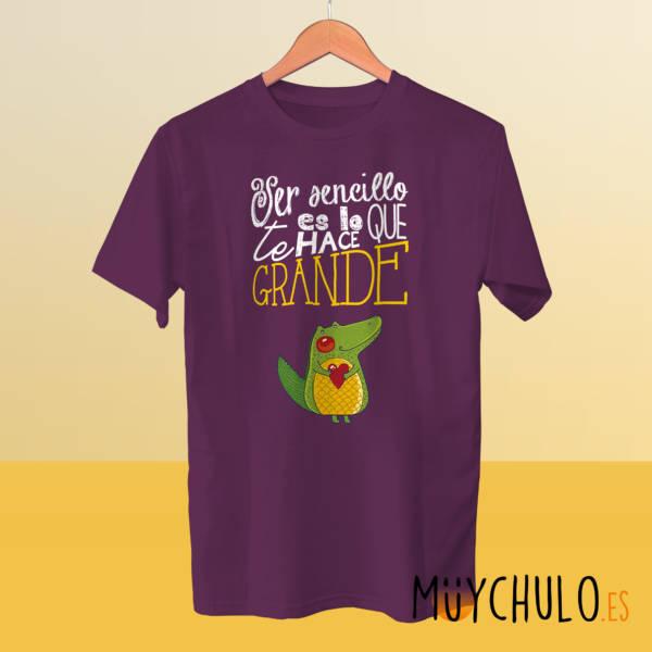 Camiseta Ser sencillo te hace GRANDE
