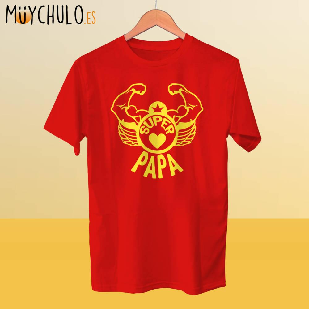 Camiseta Superpapá forzudo