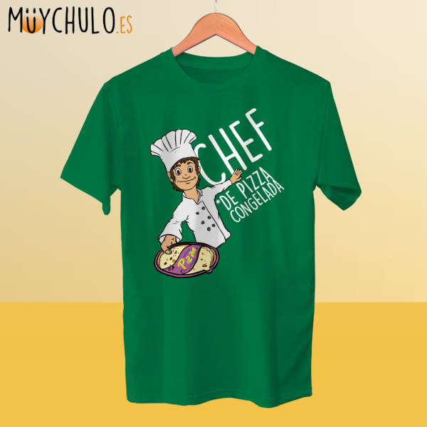 Camiseta Chef de pizzas congeladas