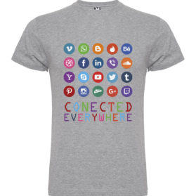 Camiseta Conected Everywhere
