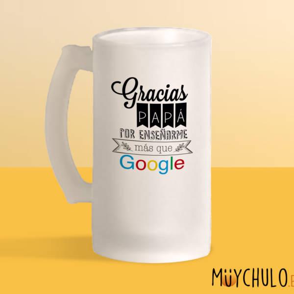 Jarra Gracias Papá por enseñarme más que Google