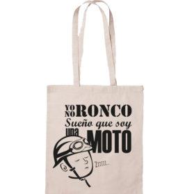 Bolsa Yo no ronco sueño que soy una moto