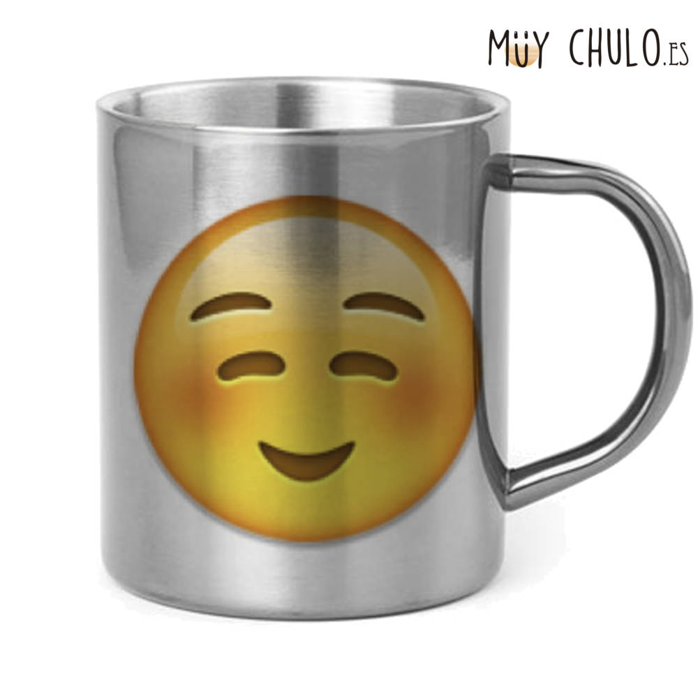 Emoji Taza Complacido