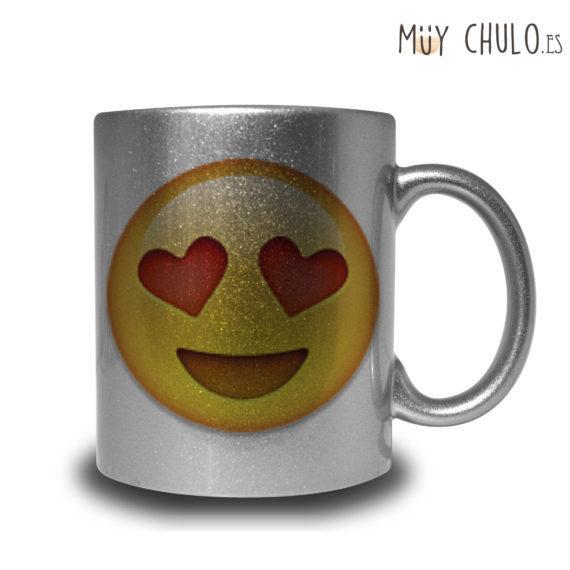 Emoji taza amor, díselo con una taza