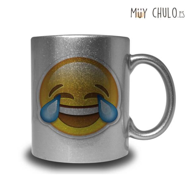 Emoji Taza Risa incontrolable