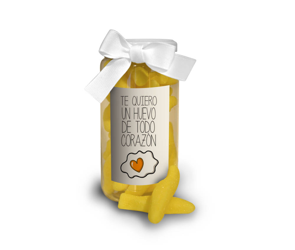 Chuches te quiero un huevo de todo corazon