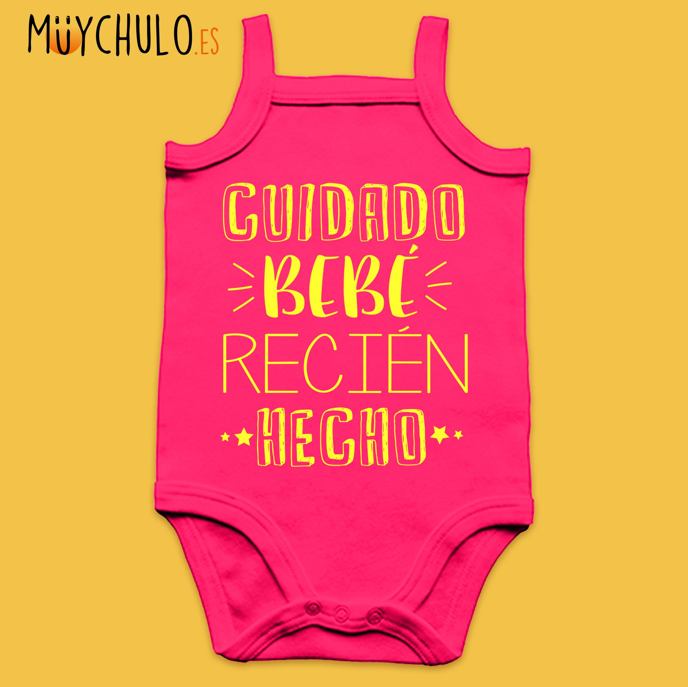 23db53d93 Body de tirantes CUIDADO bebé recién hecho! - MuyChulo Regalos ...
