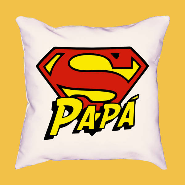 Cojín logo superpapá