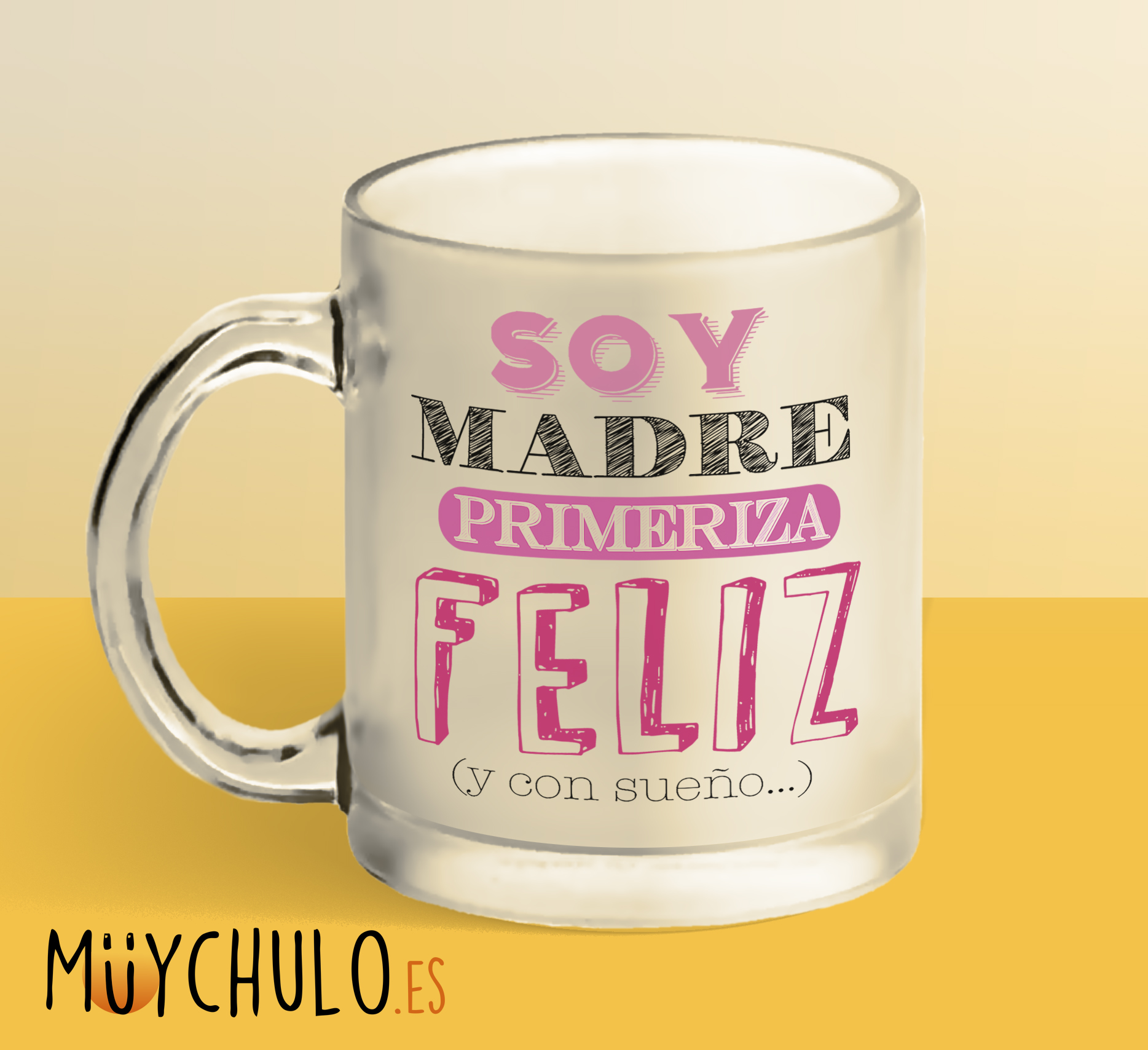 Regalos Originales Mama Primeriza.Taza Soy Madre Primeriza Feliz Y Con Sueno