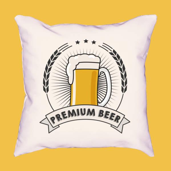 Cojín premium beer