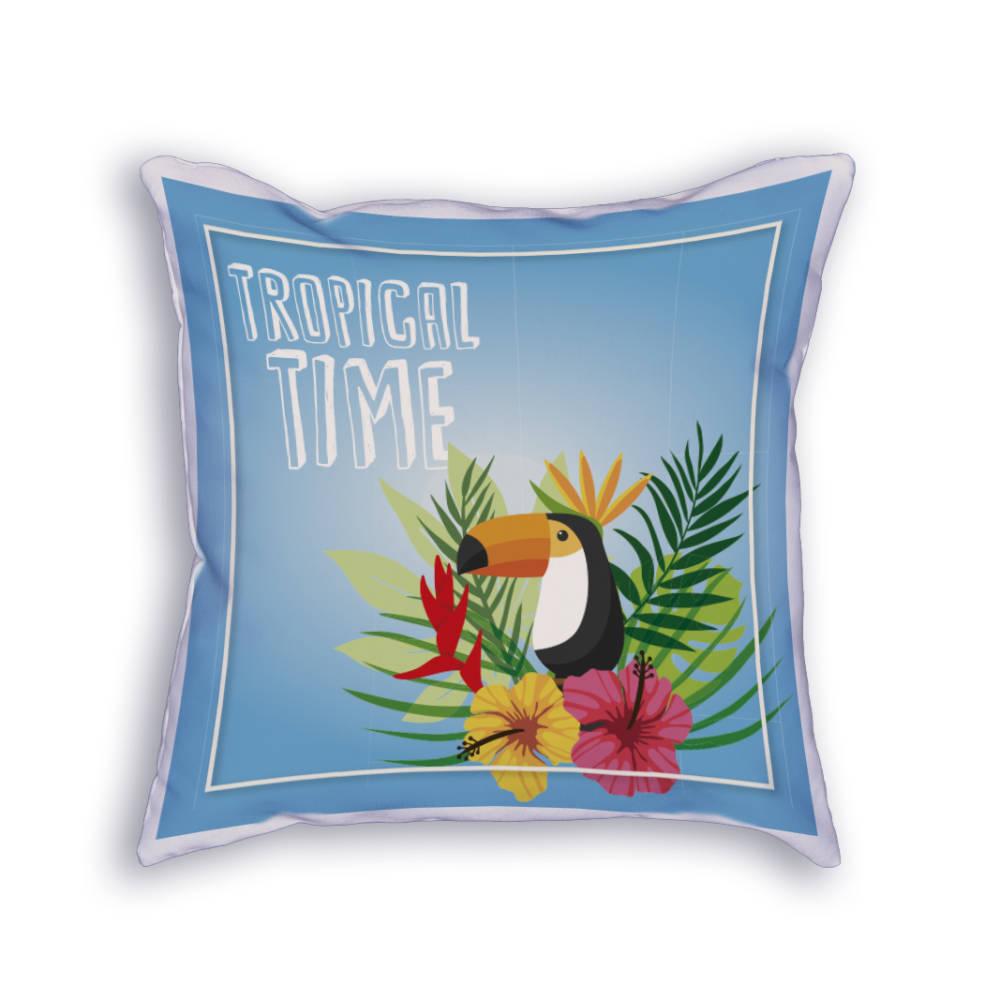 Cojín Tropical time
