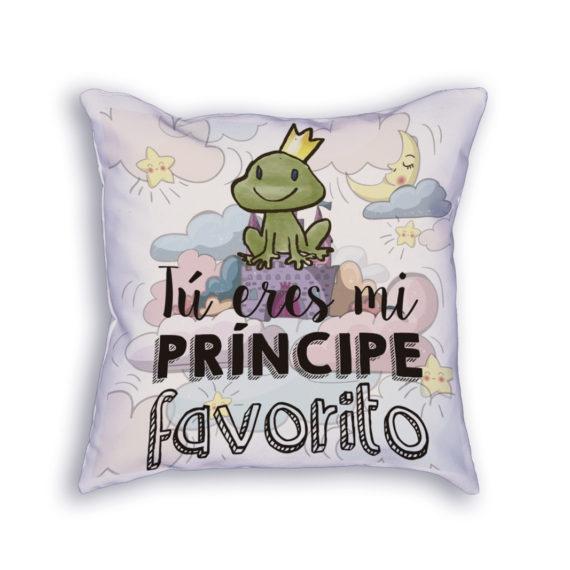Cojín Eres mi príncipe favorito