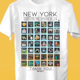 NEW YORK Camiseta Viajeros