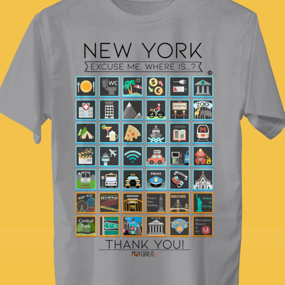 NEW YORK Camiseta Viajeros