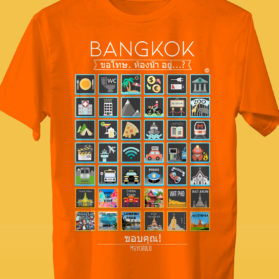 BANGKOK Camiseta Viajeros