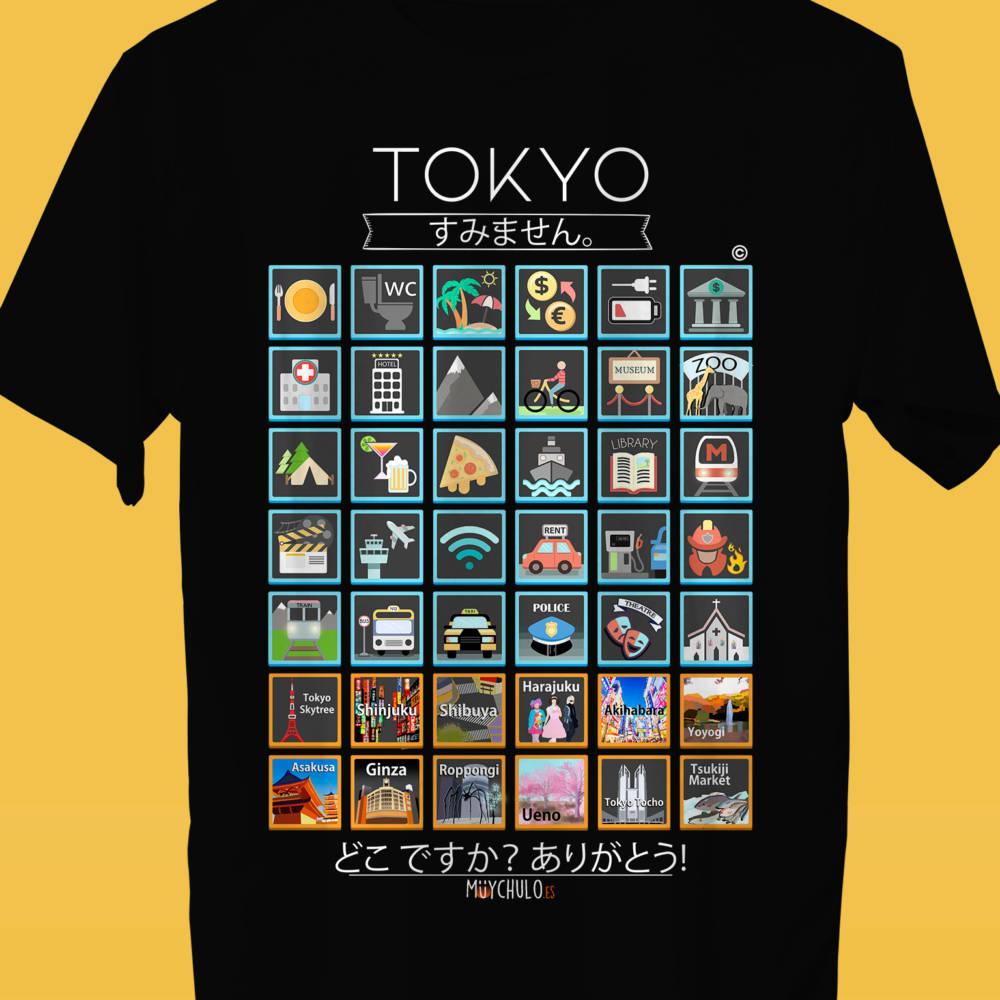 TOKYO Camiseta Viajeros