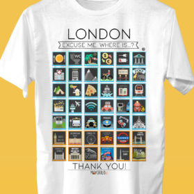 LONDON Camiseta Viajeros