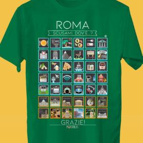 ROMA Camiseta Viajeros
