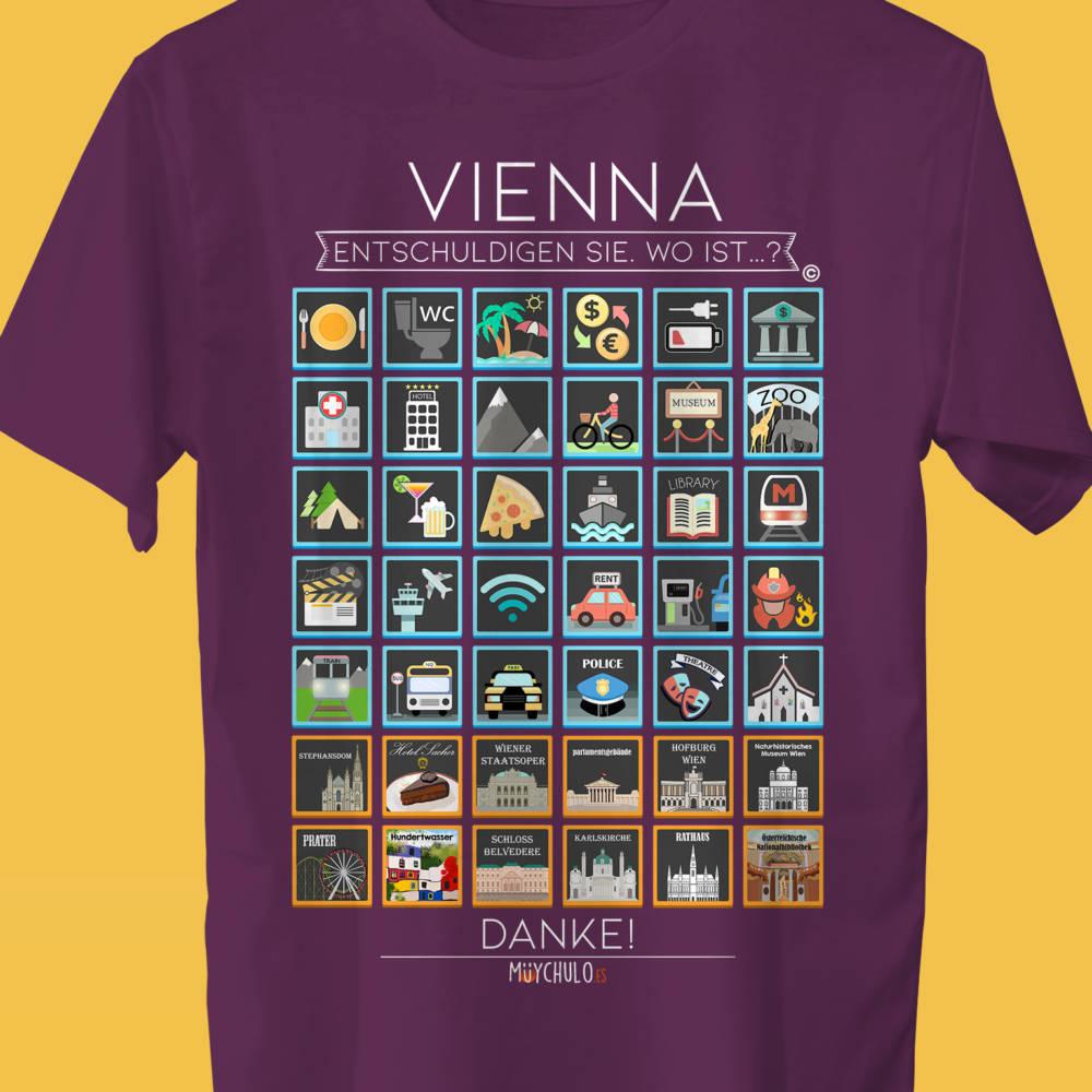 VIENNA Camiseta Viajeros