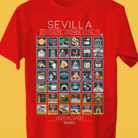 SEVILLA Camiseta Viajeros