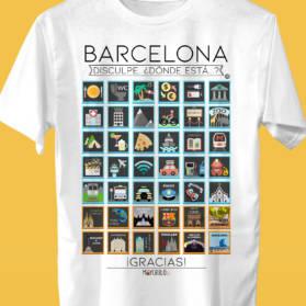 BARCELONA Camiseta Viajeros