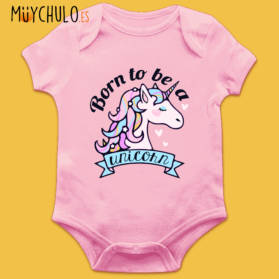 Body Manga Corta BORN TO BE A UNICORN