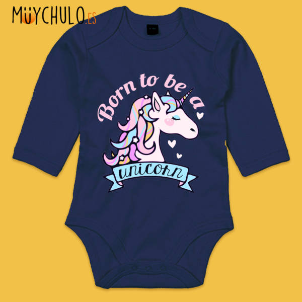 Body Manga Larga BORN TO BE A UNICORN