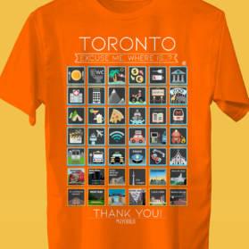 TORONTO Camiseta Viajeros