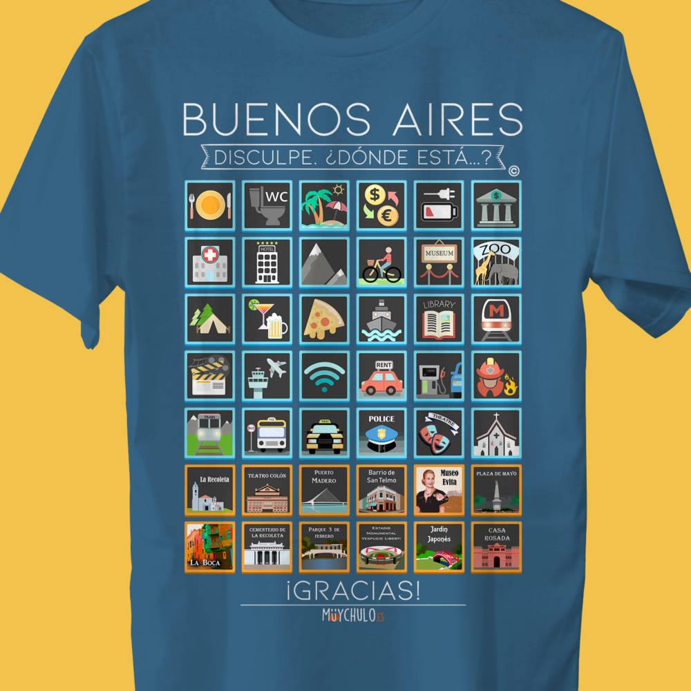 BUENOS AIRES Camiseta Viajeros