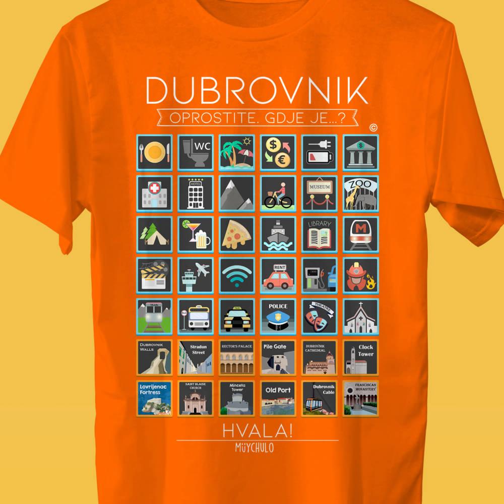 DUBROVNIK Camiseta Viajeros