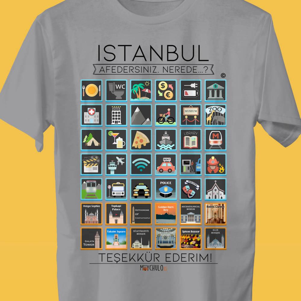 ISTANBUL Camiseta Viajeros