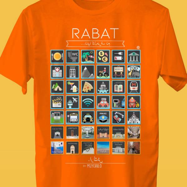 RABAT Camiseta Viajeros