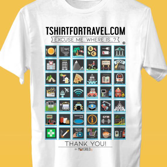 Camiseta WORLD English