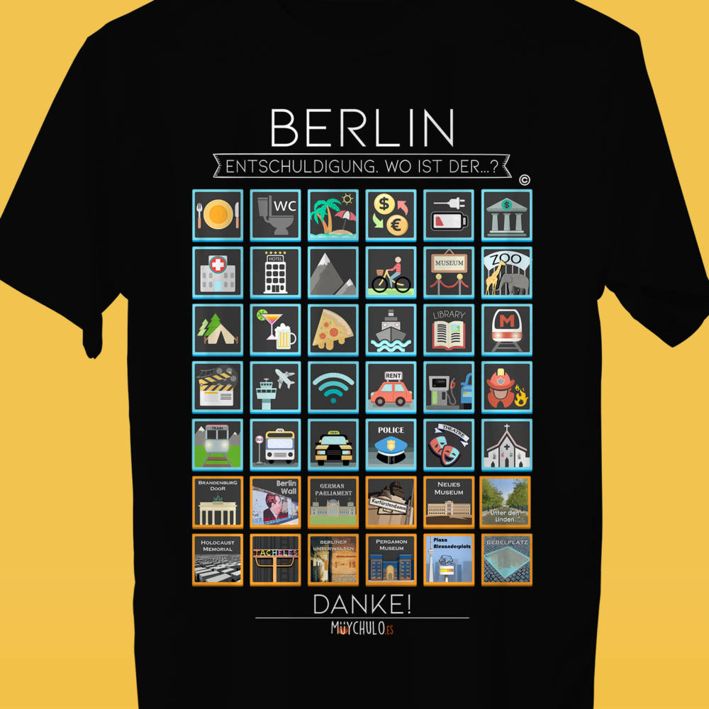 BERLIN Camiseta Viajeros