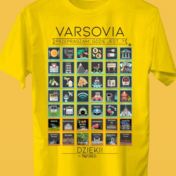VARSOVIA Camiseta Viajeros