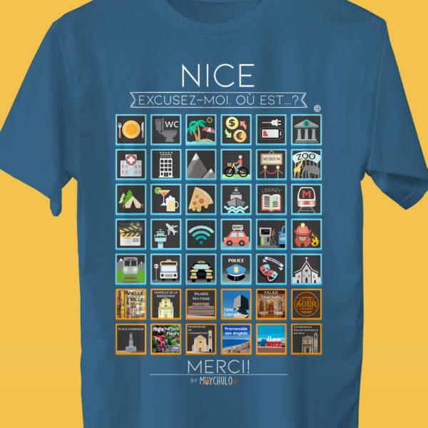 NICE Camiseta Viajeros