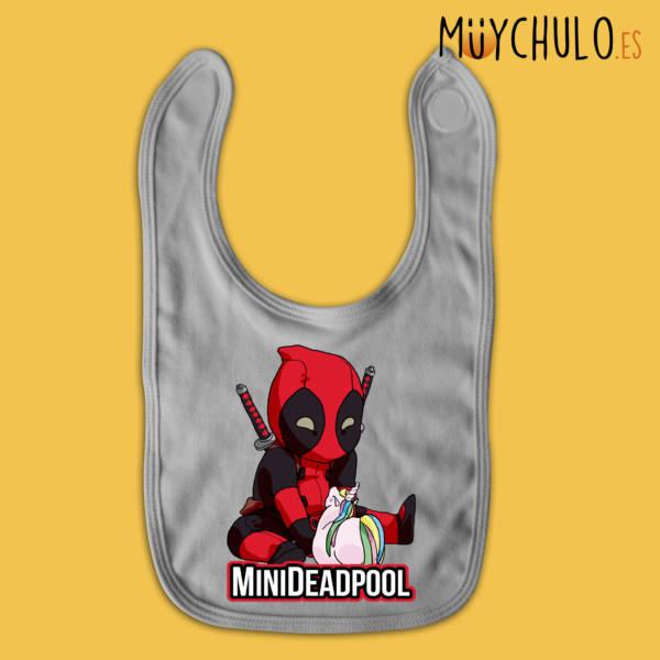 Babero mini Deadpool