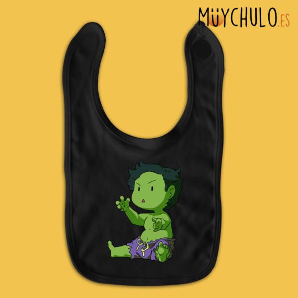 Babero mini Hulk