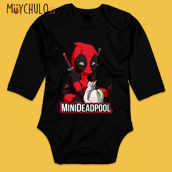 Body manga larga mini Deadpool