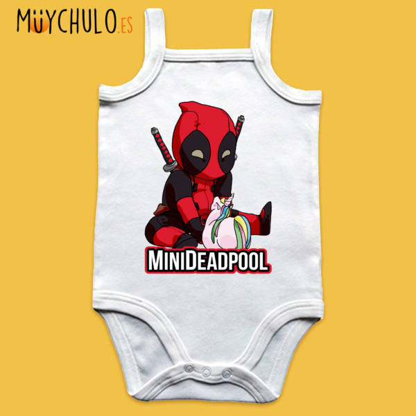 Body de tirantes mini Deadpool