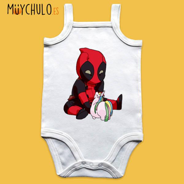 Body de tirantes mini Deadpool
