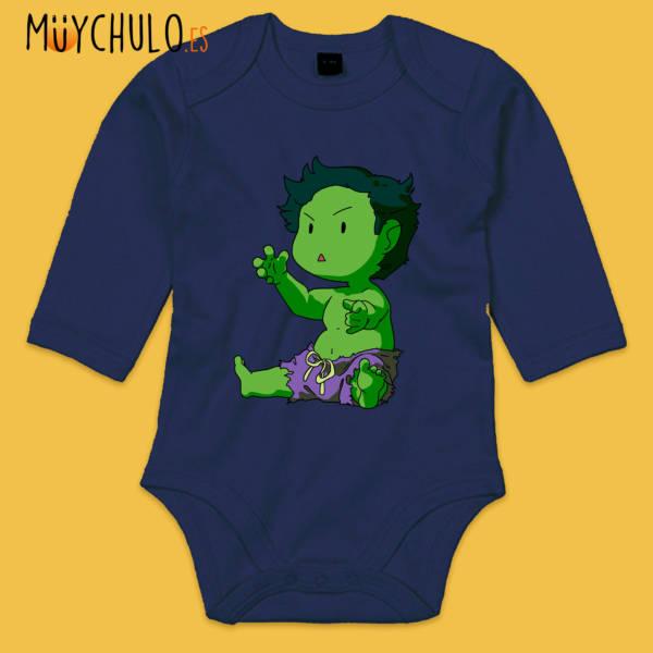 Body manga larga mini Hulk