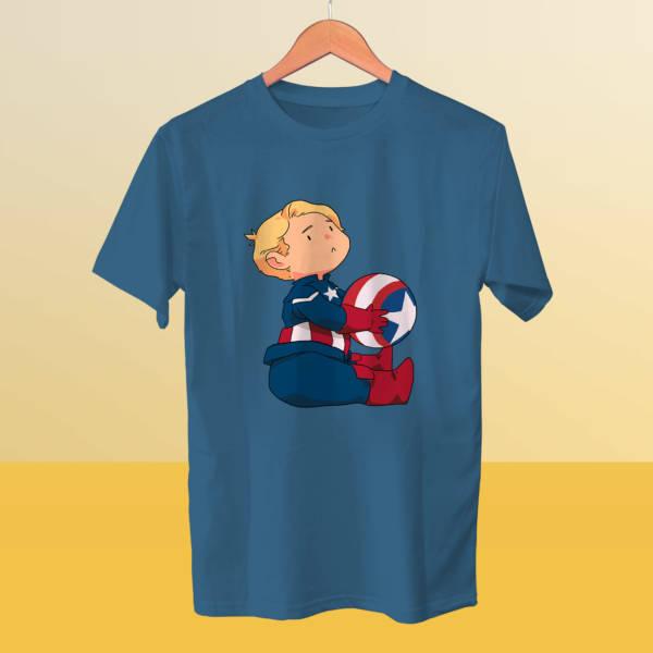 Camiseta mini Capitán América