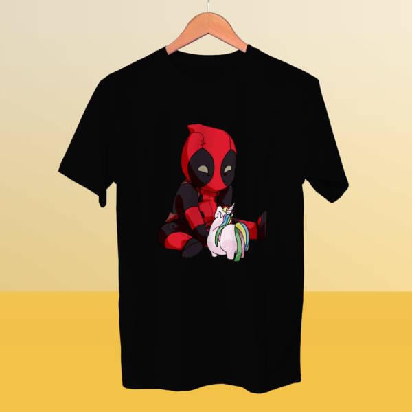 Camiseta mini Deadpool